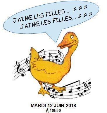 Concert ORPHÉON de GÉDÉON avec la participation de la chorale du collège HAXO, mardi 12 juin à 19h30 au Grand R.